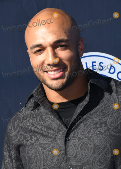 Austin Ekeler Photo - 11 June 2018 - Los Angeles California - Austin Ekeler 4th Annual Los Angeles Dodgers Foundation Blue Diamond Gala held at Dodger Stadium Photo Credit Birdie ThompsonAdMedia
