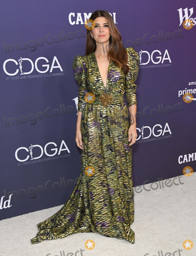 Photo - 19 February 2019 - Beverly Hills California - Marisa Tomei 21st CDGA (Costume Designers Guild Awards) held at Beverly Hilton Hotel Photo Credit Birdie ThompsonAdMedia