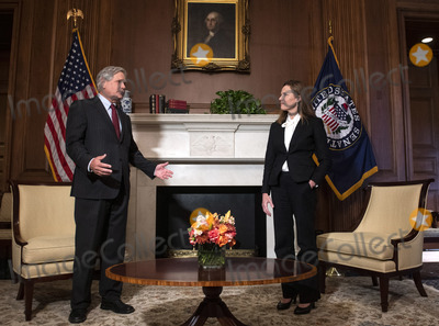 Photos From Amy Coney Barrett Capitol Hill Courtesy Call John Hoeven