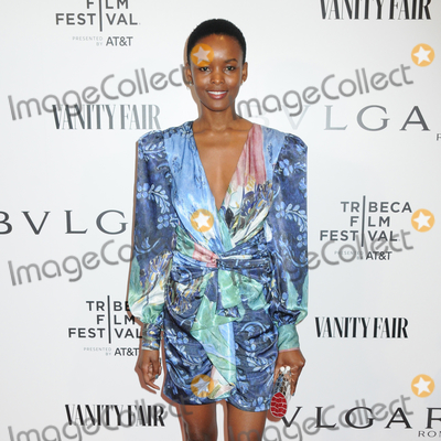 Photo - 23 April 2019 - New York New York - Flaviana Matata at BVLGARIs World Premiere of Celestial and The Fourth Wave with Vanity Fair for the 18th Annual Tribeca Film Festival at Spring Studios Photo Credit LJ FotosAdMedia