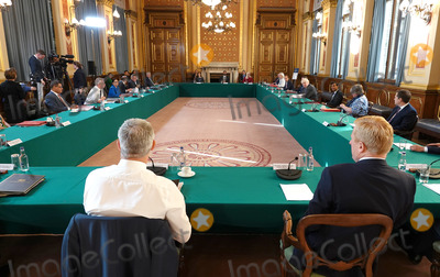 Photo - Boris Johnson Cabinet Meeting at Foreign Office