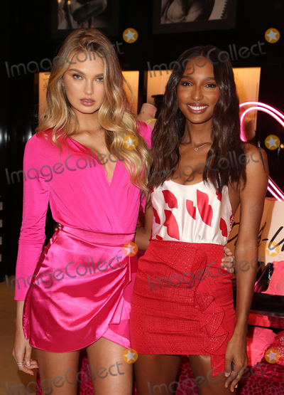 Photos From Victoria's Secret Angels Jasmine Tookes And Romee Strijd Celebrate Valentines Day