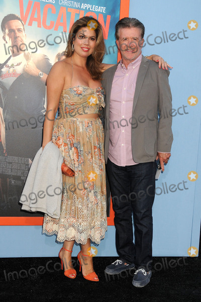 Alan Thicke Photo - 27 July 2015 - Westwood California - Tanya Callau Alan Thicke Vacation Los Angeles Premiere held at the Regency Village Theatre Photo Credit Byron PurvisAdMedia