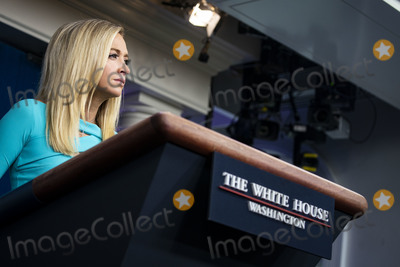 Photos From Kayleigh McEnany Briefing