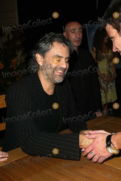 Photo - Andrea Bocelli Intimate and Seductive