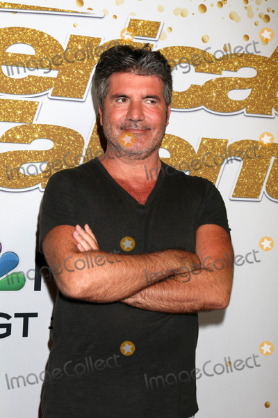 Photo - Simon Cowellat the Americas Got Talent Season 13 Live Show Red Carpet Dolby Theater Hollywood CA 08-14-18
