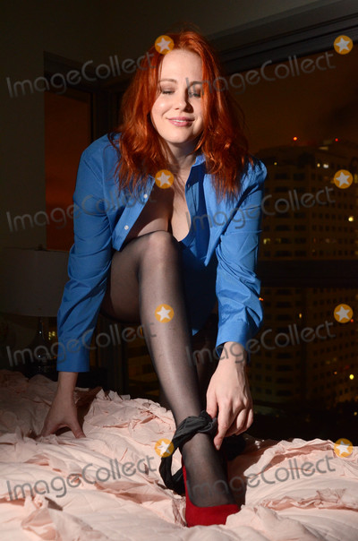 Photos From Maitland Ward Fifty Shades Freed Shoot for Rubber Magazine
