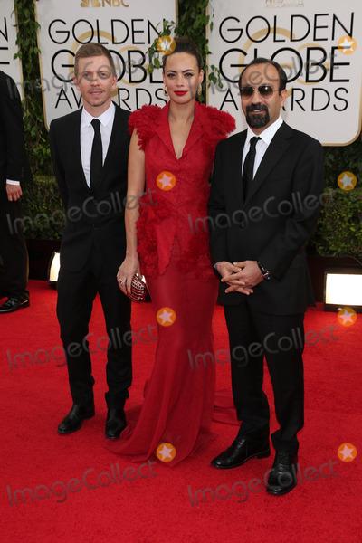 Asghar Farhadi Photo - Berenice Bejo Asghar Farhadiat the 71st Annual Golden Globe Awards Arrivals Beverly Hilton Hotel Beverly Hills CA 01-12-14