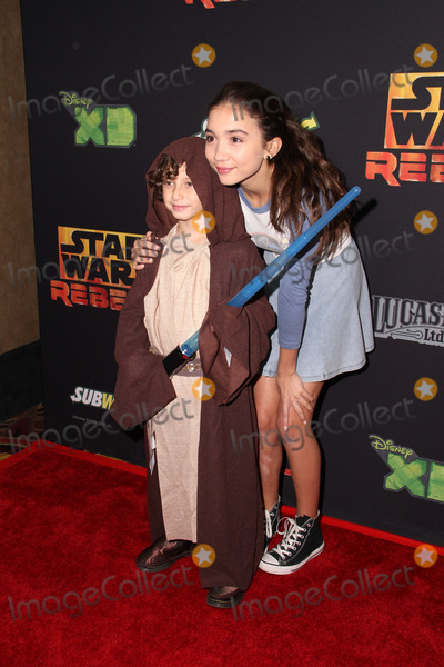 August Maturo Photo - LOS ANGELES - SEP 27  August Maturo Rowan Blanchard at the Star Wars Rebels Premiere Screening at AMC Century City on September 27 2014 in Century City CA