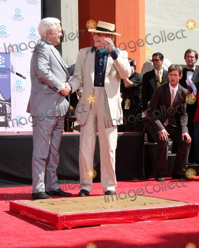 Robert Peters Photo - LOS ANGELES - APR 30  Robert Osbourne Peter OToole attending the Peter OToole Hand  Footprint Ceremony at Graumans Chinese Theater on April 30 2011 in Los Angeles CA