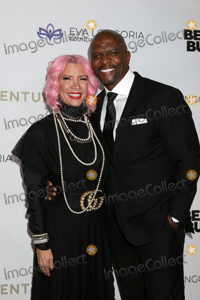Photo - LOS ANGELES - NOV 15  Rebecca Crews Terry Crews at the 2019 Eva Longoria Foundation Gala at Four Seasons Los Angeles at Beverly Hills on November 15 2019 in Los Angeles CA