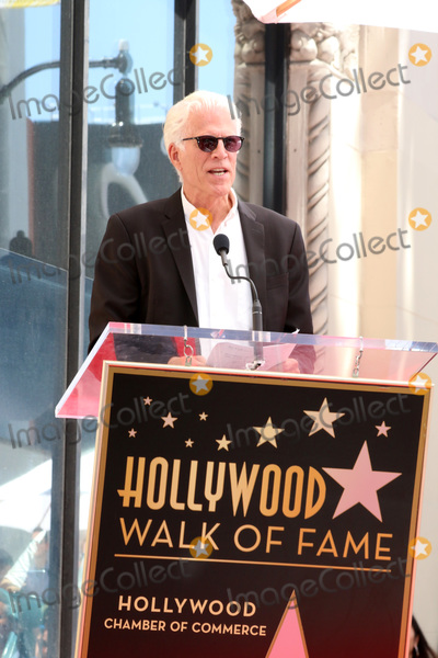 Photo - LOS ANGELES - APR 23  Ted Danson at the Seth MacFarlane Star Ceremony on the Hollywood Walk of Fame on April 23 2019 in Los Angeles CA