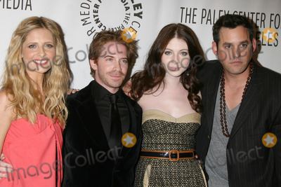 Buffie Photo - Sarah Michelle Gellar Seth Green Michelle Trachtenberg and Nicolas BrendonBuffy the Vampire Slayer Reunion- PaleyFest08Paley Center for Medias 24th William S Paley Television FestivalArcLight TheaterLos Angeles CAMarch 20 2008
