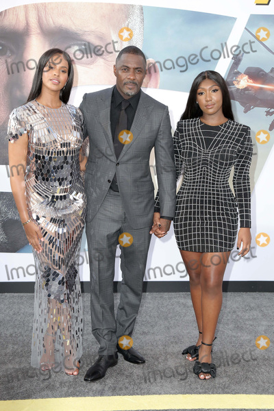 Photo - LOS ANGELES - JUL 13  Sabrina Dhowre Elba1056 Idris Elba Isan  at the Fast  Furious Presents Hobbs  Shaw Premiere at the Dolby Theater on July 13 2019 in Los Angeles CA