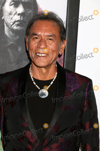 Photo - LOS ANGELES - DEC 14  Wes Studi at the Hostiles Premiere at Samuel Goldwyn Theater The Academy of Motion Picture Arts and Sciences on December 14 2017 in Beverly Hills CA