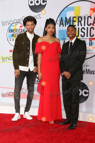 Aretha Franklin Photo - LOS ANGELES - OCT 9  Aretha Franklin s Family at the 2018 American Music Awards at the Microsoft Theater on October 9 2018 in Los Angeles CA