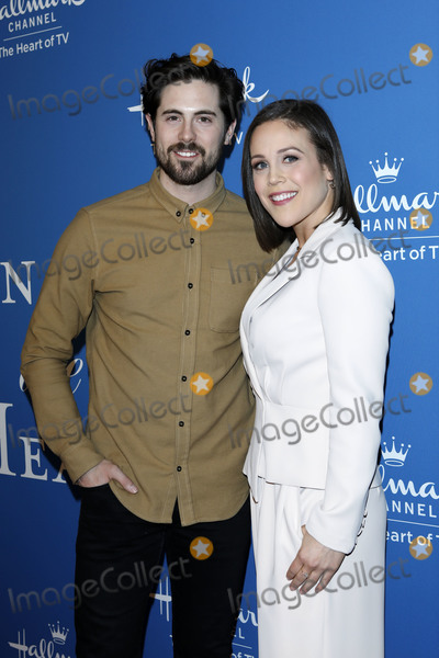Photo - LOS ANGELES - FEB 11  Chris McNally Erin Krakow at the When Calls the Heart TV show season 7 premiere at the Beverly Wilshire Hotel on February 11 2020 in Beverly Hills CA