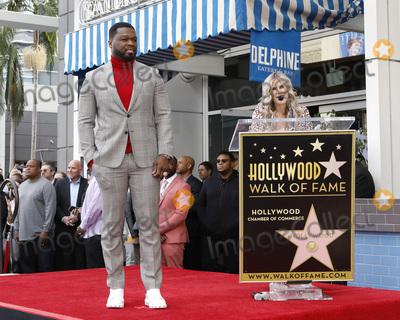 Photo - 50 Cent Star Ceremony