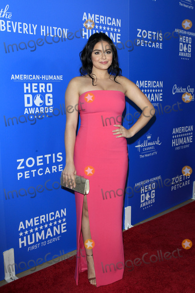 Photo - LOS ANGELES - SEP 29  Ariel Winter at the  2018 American Humane Hero Dog Awards at the Beverly Hilton Hotel on September 29 2018 in Beverly Hills CA