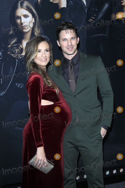 Photo - LOS ANGELES - DEC 12  Angela Stacy Matt Lanter at the Pitch Perfect 3 Premiere at the Dolby Theater on December 12 2017 in Los Angeles CA