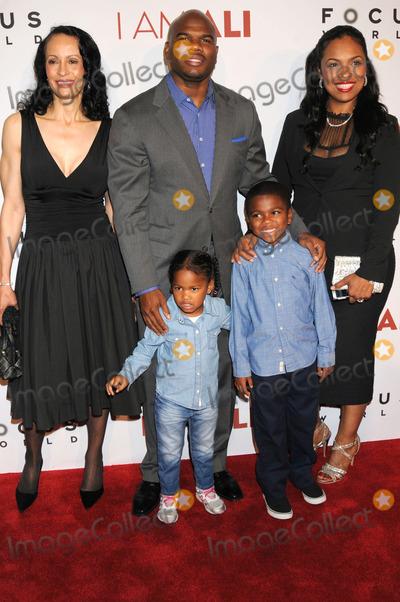 Ali Family Photo - Photo by GalaxystarmaxinccomSTAR MAX2014ALL RIGHTS RESERVEDTelephoneFax (212) 995-119610914Hana Ali family at the I am Ali Premiere held at  ArcLight Cinema Hollywood(CA)
