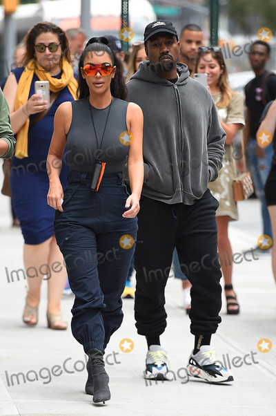 Photo - Photo by TKstarmaxinccomSTAR MAX2018ALL RIGHTS RESERVEDTelephoneFax (212) 995-119661918Kim Kardashian and Kanye West are seen in New York City