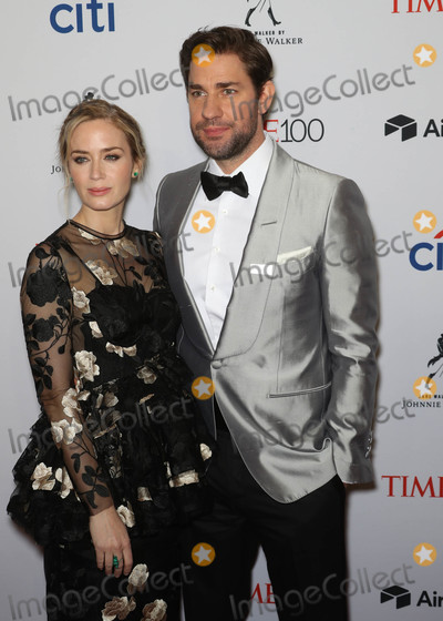 Photo - Photo by John NacionstarmaxinccomSTAR MAX2018ALL RIGHTS RESERVEDTelephoneFax (212) 995-119642418Emily Blunt and John Krasinski at the TIME 100 Most Influential People in The World Gala in New York City