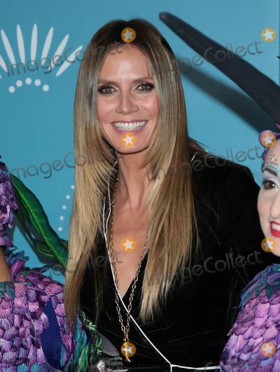 Photo - Heidi Klum at the premiere of Luzia