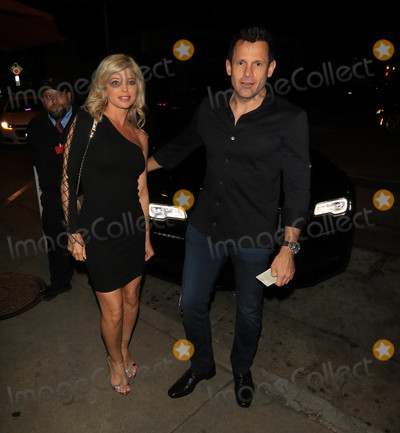 Photos From Donna D'Errico and Donald Friese are seen in Los Angeles