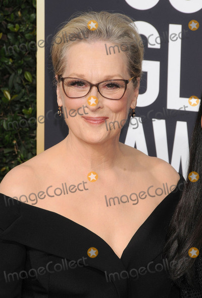 Photo - Photo by GalaxystarmaxinccomSTAR MAXCopyright 2018ALL RIGHTS RESERVEDTelephoneFax (212) 995-11961718Meryl Streep at the 75th Annual Golden Globe Awards(Beverly Hills CA)s