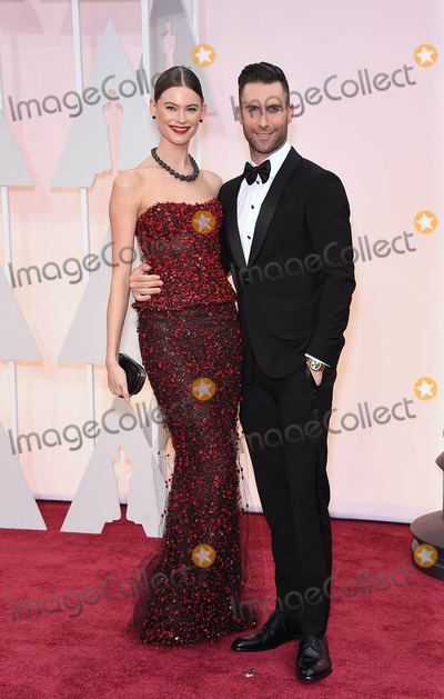 Photo - Photo by KGC-11starmaxinccomSTAR MAX2015ALL RIGHTS RESERVEDTelephoneFax (212) 995-119622215Behati Prinsloo and Adam Levine at the 87th Annual Academy Awards (Oscars)(Hollywood CA)