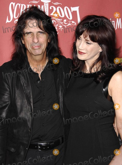 Photo - Alice Cooper and his wife Sheryl at Spike TVs Scream 2007 (Los Angeles CA)