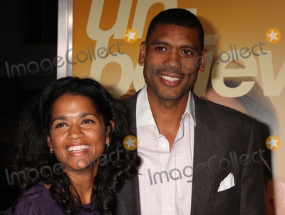 Allan Houston Photo - Allan Houston and Wife Tamara Arriving at the Premiere of Warner Bros Pictures the Informant at the Ziegfeld Theatre in New York City 09-15-2009 Photo by Henry Mcgee-Globe Photos Inc 2009