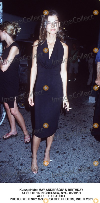 Aurelie Claudel Photo -  May Anderson S Birthday at Suite 16 in Chelsea NYC 061901 Aureile Claudel Photo by Henry McgeeGlobe Photos Inc