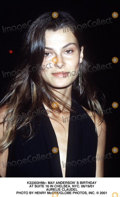 Aurelie Claudel Photo -  May Anderson S Birthday at Suite 16 in Chelsea NYC 061901 Aurelie Claudel Photo by Henry McgeeGlobe Photos Inc