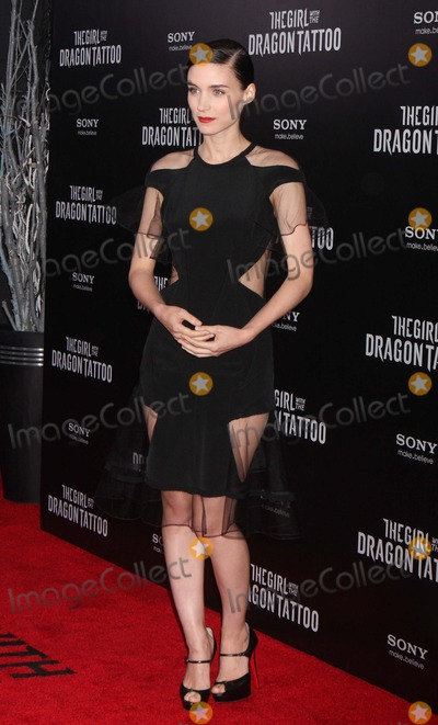 Photos From Premiere of 'the Girl with the Dragon Tattoo'-nyc