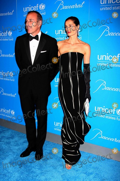 Annette Lauer Photo - NYC  120209Matt Lauer and wife Annette Lauer at the 2009 UNICEF Snowflake Ball at Cipriani 42nd StreetDigital Photo by Adam Nemser-PHOTOlinknet