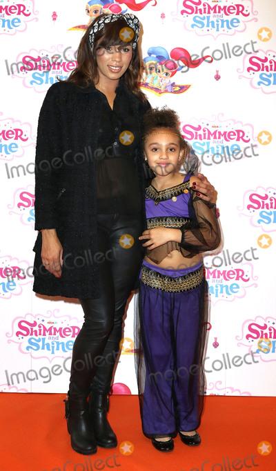 Javine Photo - Nov 08 2015 - London England UK - Javine Hylton and daughter Angel attending Shimmer and Shine UK Premiere No 11 Cavendish Square