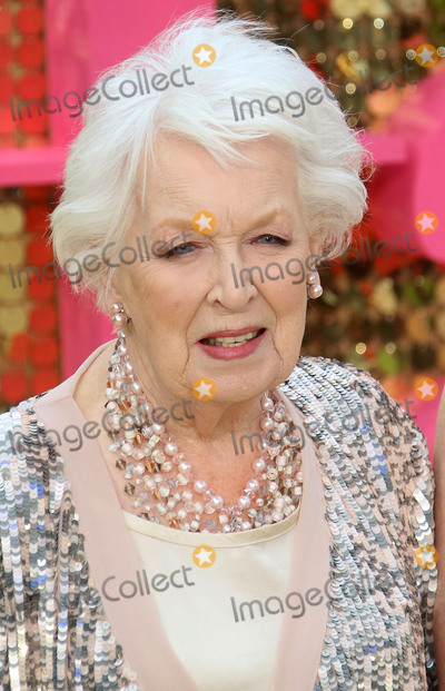 June Whitfield Photo - June 29 2016 - June Whitfield attending World Premiere of  Absolutely Fabulous The Movie at Odeon Leicester Square in London UK