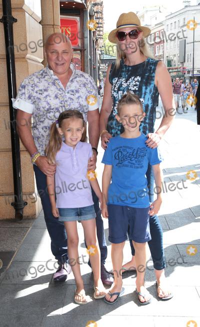 Aldo Zilli Photo - Aug 03 2014 - London England UK - The Unbeatables UK Premiere Vue West End Leicester SquarePhoto Shows Aldo Zilli and family