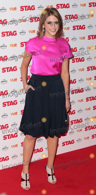 Amy Huberman Photo - Mar 13 2014 - London England UK - Gala-Screening of Stag at Vue West End in Leicester Square Pictured Amy Huberman