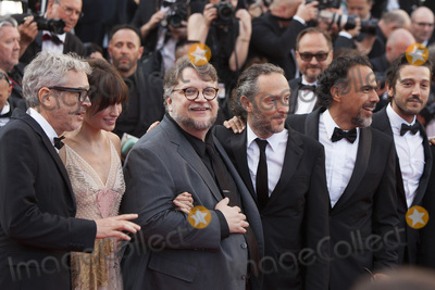 Emmanuel Lubezki Photo - CANNES FRANCE - MAY 23 Gael Garcia Bernal Diego Luna Alejandro Gonzalez Inarritua Guillermo del Toro Sheherazade Goldsmith Alfonso Cuaron and Emmanuel Lubezki attend the 70th Anniversary of the 70th annual Cannes Film Festival at Palais des Festivals on May 23 2017 in Cannes France(Photo by Laurent KoffelImageCollectcom)