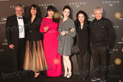 Claude Lelouch Photo - CANNES FRANCE - MAY 19 (L-R) guest Marianne Denicourt Valerie Perrin Tess Lauvergne Anouk Aime and Claude Lelouch at Place de la Castre on May 19 2019 in Cannes France(Photo by Laurent KoffelImageCollectcom)