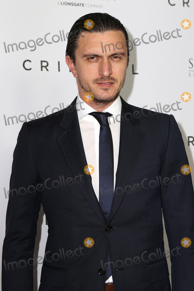 Dragos Savulescu Photo - April 11 2016 New York CityDragos Savulescu arriving at the New York Premiere of Criminal at the AMC Loews Lincoln Square theater on April 11 2016 in New York CityBy Line Nancy RiveraACE PicturesACE Pictures Inctel 646 769 0430