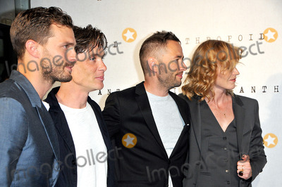 Anna Geislerova Photo - August 30 2016 London(L-R) Jamie Dornan Cillian Murphy Sean Ellis and Anna Geislerova arriving at the UK Premiere of Anthropoid at the BFI Southbank on August 30 2016 in London EnglandBy Line FamousACE PicturesACE Pictures IncTel 6467670430