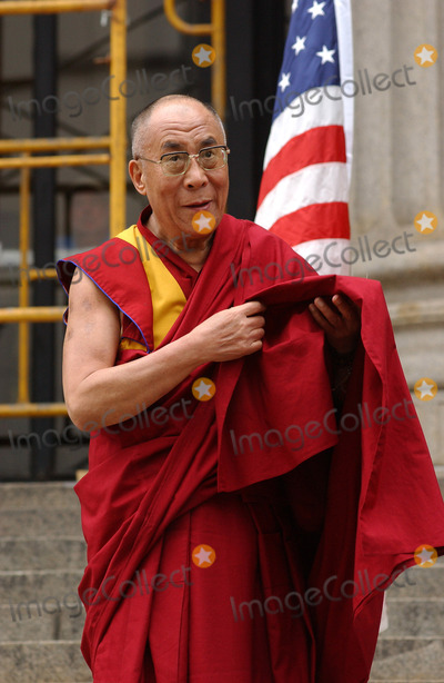 Daniel Patrick Moynihan Photo - NEW YORK SEPTEMBER 25 2005    His Holiness the Dalai Lama attends the ceremony to present His Holiness the Dalai Lama with the key to the city The Dalai Lama visited the future site of the Daniel Patrick Moynihan Station on the site of the James A Farley Post Office