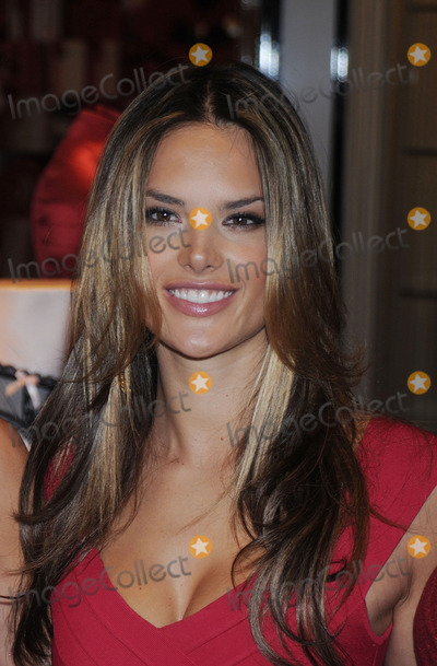 ALESSANDRA AMBROSIA Photo - Alessandra Ambrosia at the opening of the Victoria Secret Lexington Avenue Flagship Store on December 2 2008 in New York City
