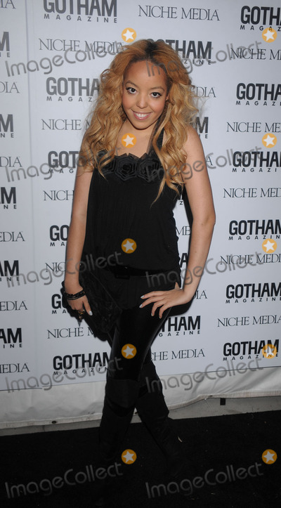 ALEXANDRA ALEXIS Photo - Singer Alexandra Alexis arriving at the Gotham Magazine Gala at Escape on November 18 2008 in New York City