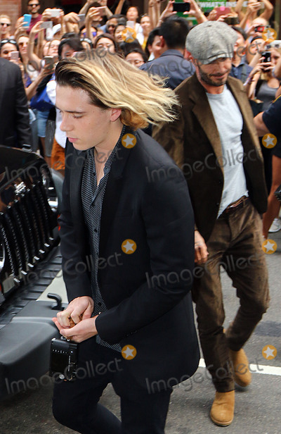 Photo - Beckham family sighting 091116