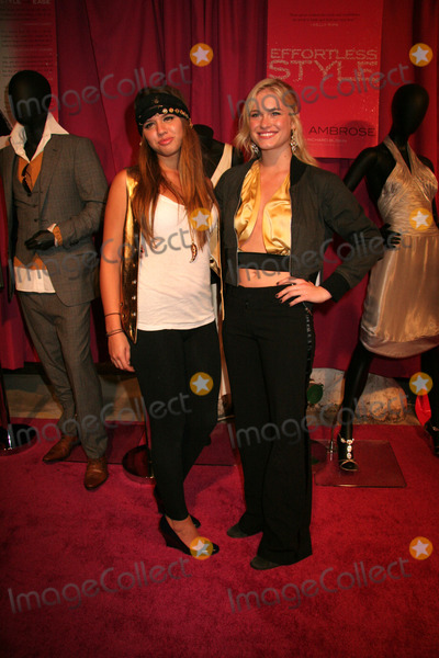 ALESSANDRA BALAZ Photo - Leven Rambin and Alessandra Balaz attend the party for the launch of June Ambroses new book Effortless Style held at Tenjune and hosted by Sean Diddy Combs